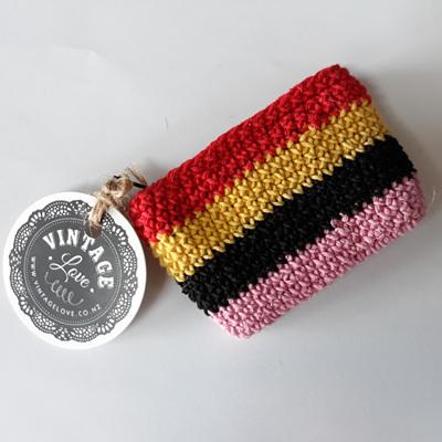 Rectangle Crochet Coin Purse