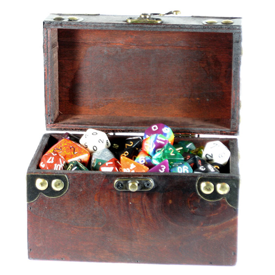 Rectangular Dice Chest Games and Hobbies New Zealand NZ