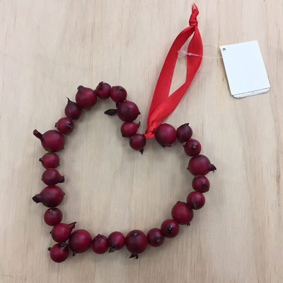 Red Berry Heart 12cm WAS $13.90