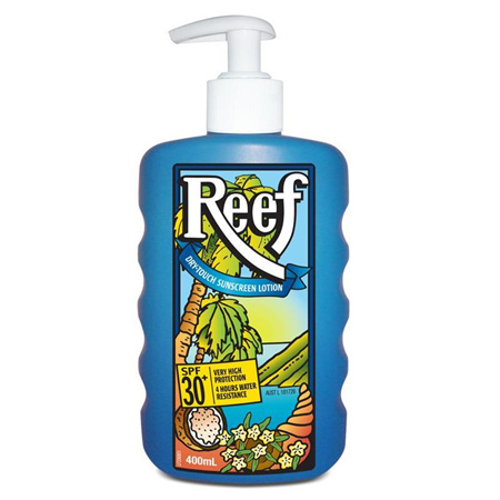 REEF Dry Touch Lotn SPF30 400ml