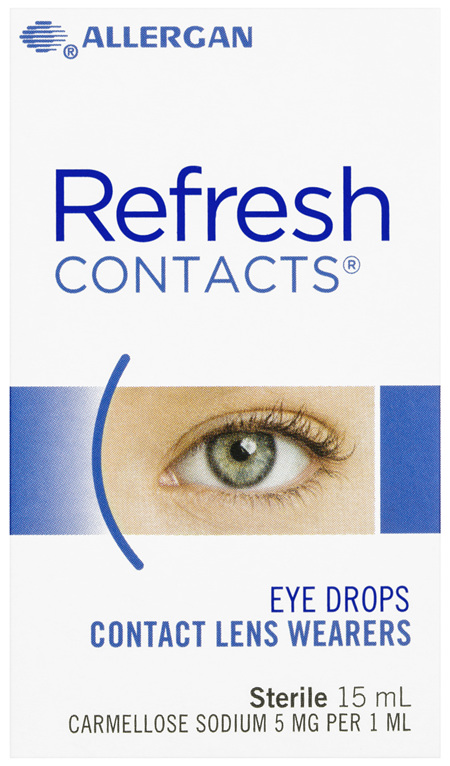 Refresh Contacts Eye Drops 15mL