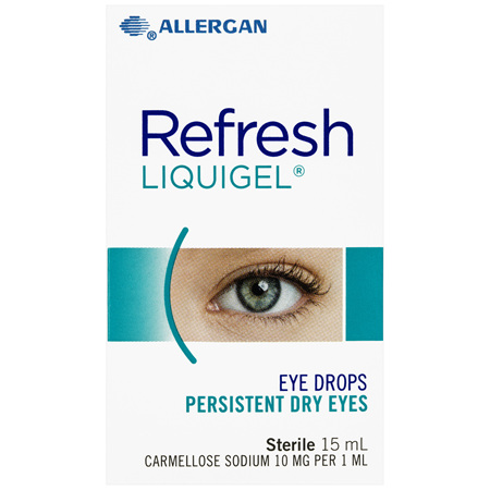 Refresh Liquigel Eye Drops 15 mL