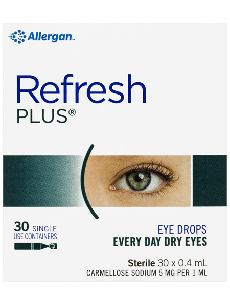 Refresh Plus Eye Drops 30 x 0.4 mL