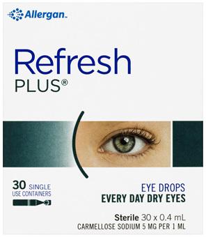 Refresh Plus Eye Drops 30 x 0.4 mL