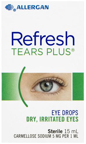 Refresh Tears Plus Eye Drops 15mL