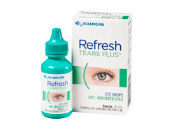 Refresh Tears Plus Lubricant Eye Drops 15mL