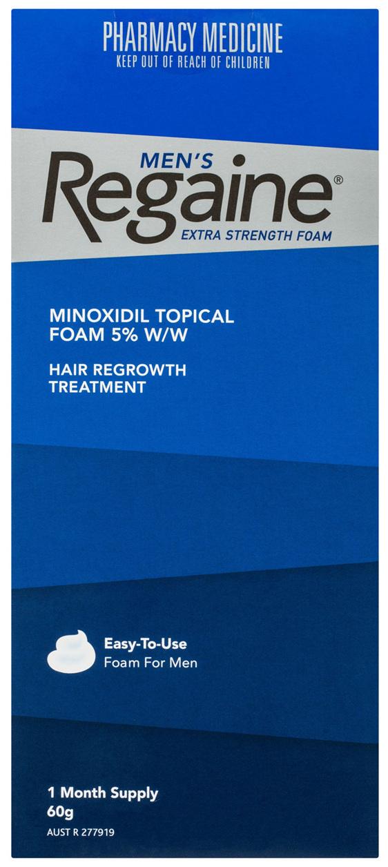 Regaine Men's Extra Strength Foam Hair Regrowth Treatment 60g