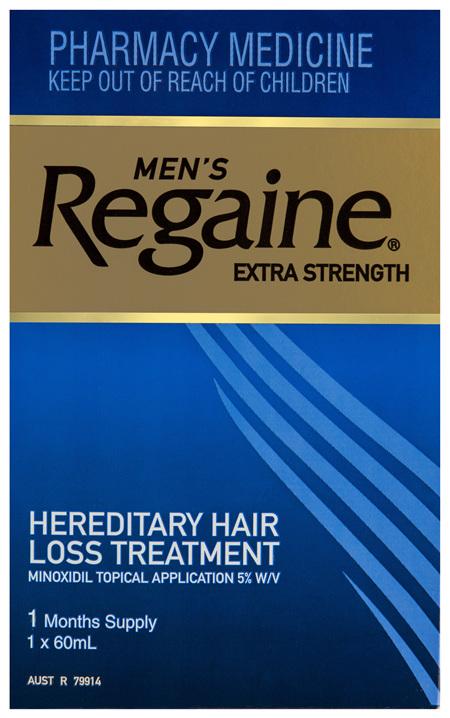 Regaine Men's Extra Strength Minoxidil Hair Loss Treatment 60mL