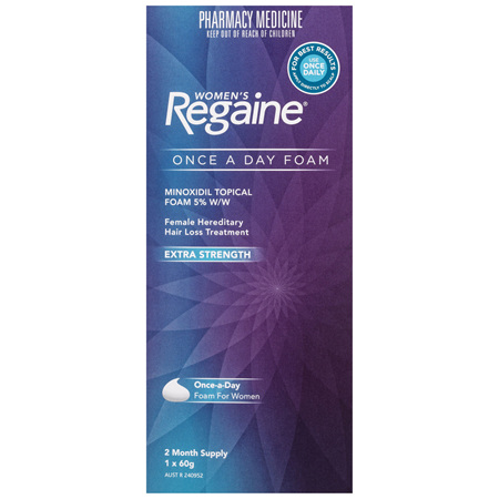 Regaine Women's Extra Strength Minoxidil Foam Hair Regrowth Treatment 60g