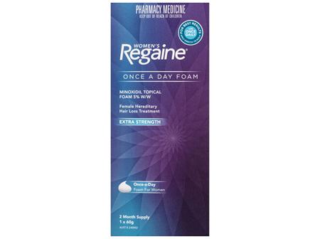 Regaine Women's Extra Strength Minoxidil Foam Hair Regrowth Treatment 60g