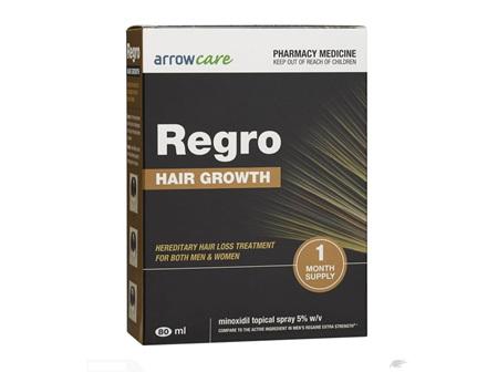 Regro Triple Pack Hair Growth Treatment 3x80ml
