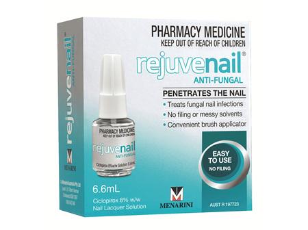 Rejuvenail Anti-Fung Nail Laq 6.6ml