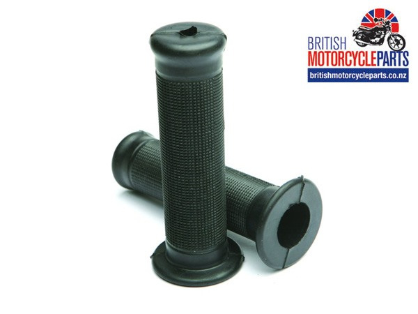 Replica Rubber Amal 1 inch Handlebar Grip - British Motorycle Spare Parts NZ