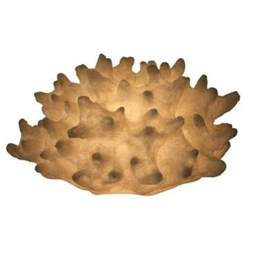Resin Flat Coral Lamp - 35.5cm