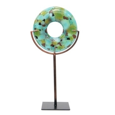 Resin Turquoise On Stand - 17x35cmh