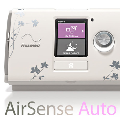 ResMed AirSense 10 for Her AUTOSET CPAP Machine (with free wireless connection)