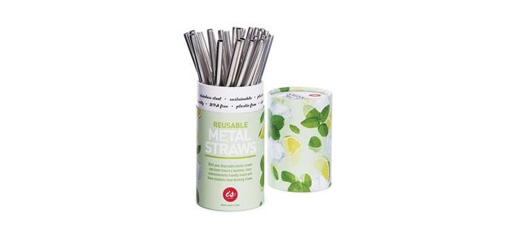 Reusable Metal Straws