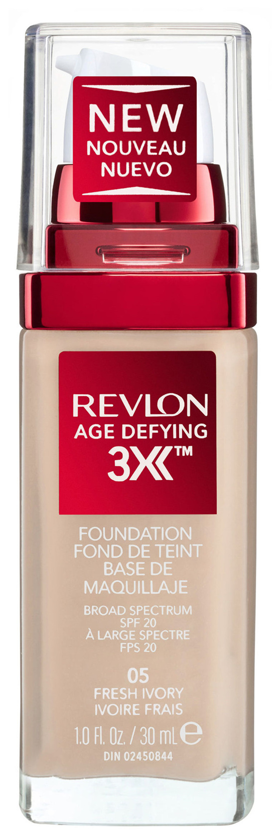 Revlon Age Defying™ 3X Foundation 05 Fresh Ivory