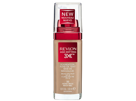 Revlon Age Defying™ 3X Foundation Honey Beige
