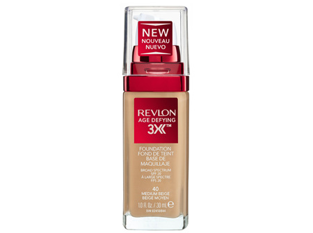 Revlon Age Defying™ 3X Foundation Medium Beige