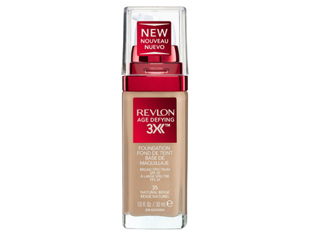 Revlon Age Defying™ 3X Foundation Natural Beige