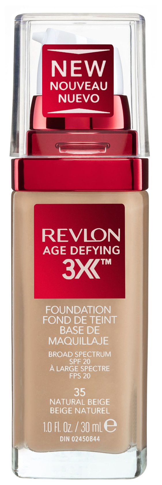 Revlon Age Defying™ 3X Foundation Natural Beige