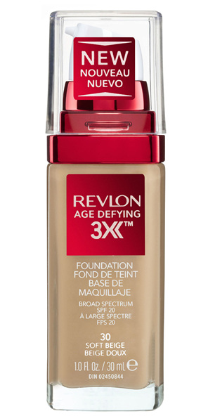 Revlon Age Defying™ 3X Foundation Soft Beige