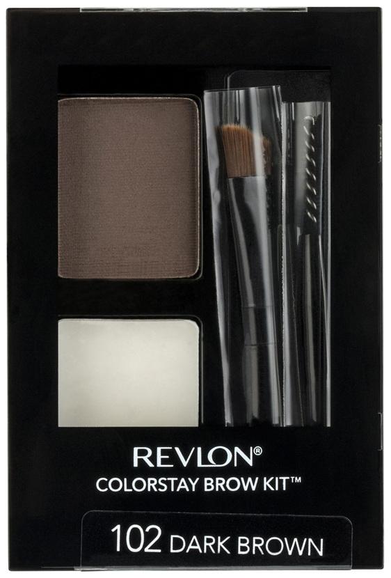 Revlon Colorstay Brow Kit™ Dark Brown