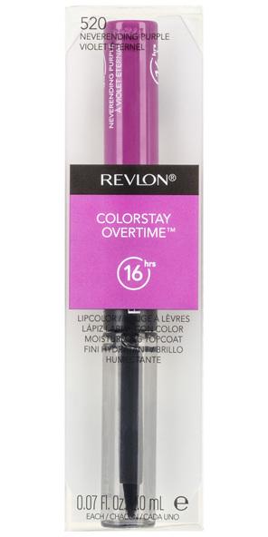 Revlon ColorStay Overtime Lipcolor Neverending Purple