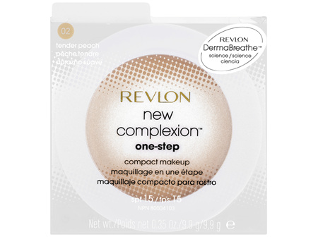 Revlon New Complexion 1Step Compact Makeup 02 Tender Peach