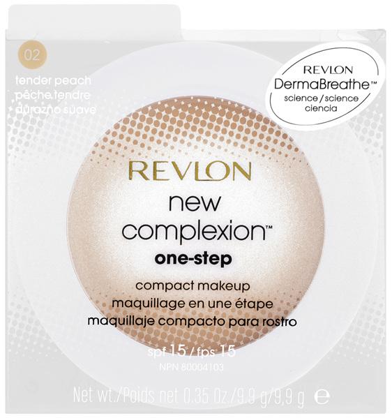 Revlon New Complexion 1Step Compact Makeup 02 Tender Peach