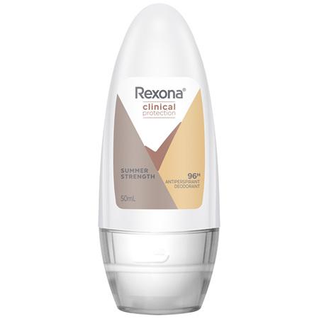 REXONA Clinical Protection Antiperspirant Roll On Summer Strength 50 ML