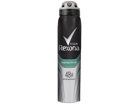 REXONA Men Antiperspirant Aerosol Deodorant Sensitive 250ml