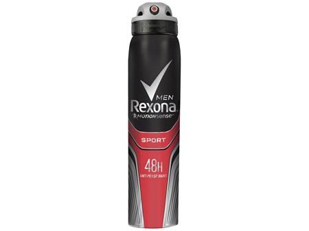 REXONA Men Antiperspirant Aerosol Deodorant Sport 250ml