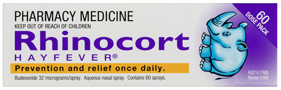 Rhinocort Nasal Spay for Hayfever & Allergies 2 x 120 Dose Pack