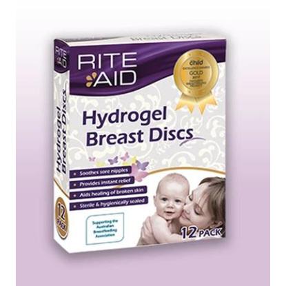 RITE AID HYDROGEL BREAST DISCS 12 pack