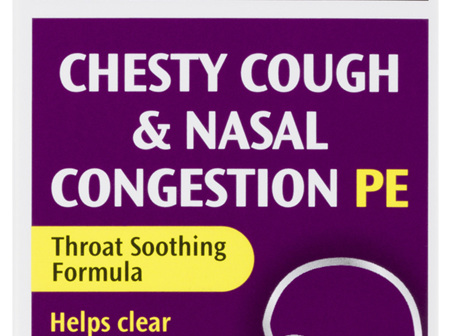 Robitussin Chesty Cough & Nasal Congestion PE 200mL