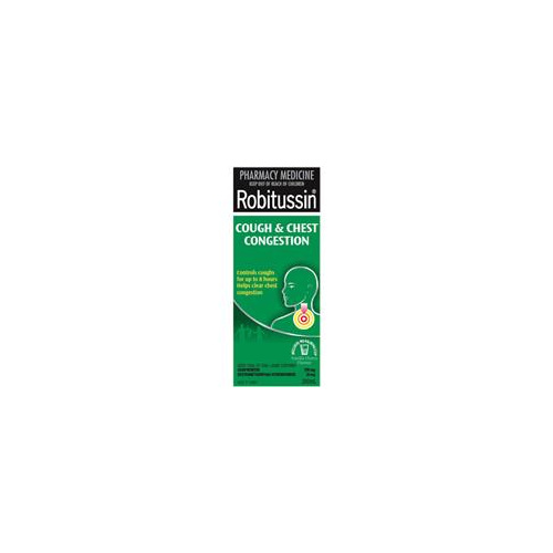 Robitussin Cough and Chest Congestion 200ml