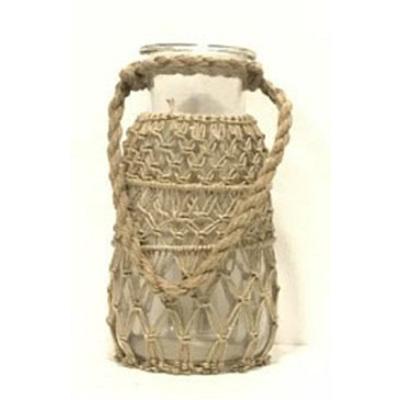 Roosa Lantern W Rope Weaving - XL