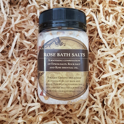 Rose Bath Salts - 400g