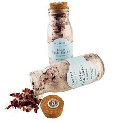 Rose Bath Salts - Bottle