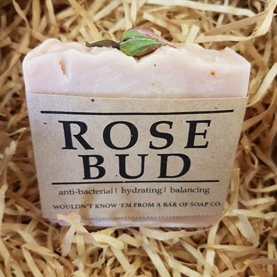 Rose Bud Soap Bar