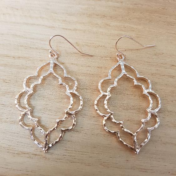 Rose Gold Marakesh Earrings
