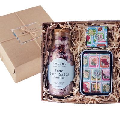 Rose Salt Gift Set