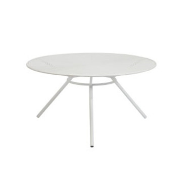 Round Wire Coffee Table White - Large