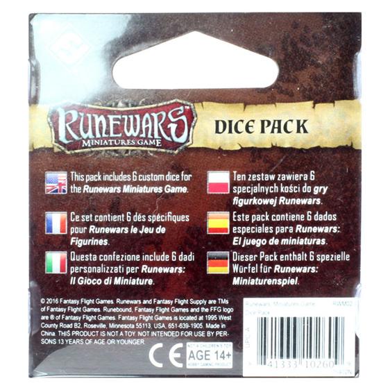 RuneWars Rune Wars Miniatures Game Dice Pack Games and Hobbies New Zealand