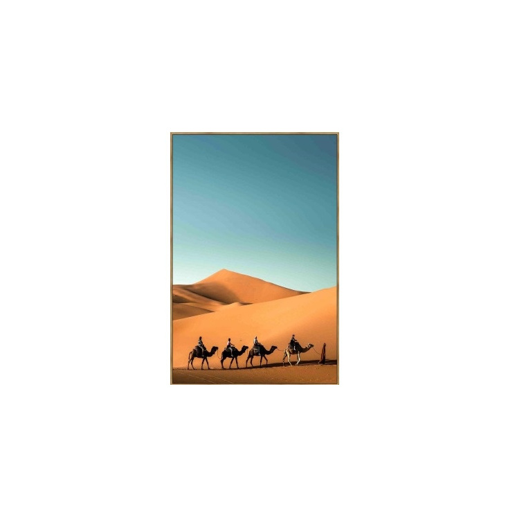 Sahara Canvas Print - Timber Look Frame