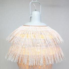 Sakura Pendant Shade - White Wash
