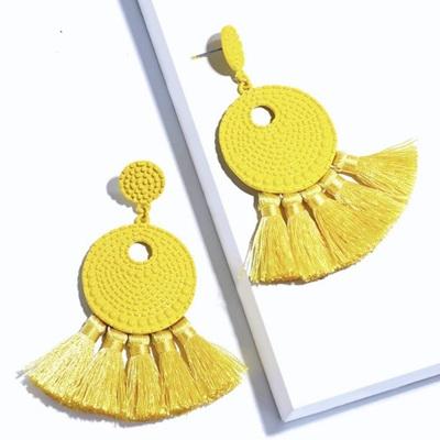 Salsa Tassel Earrings - Sunflower