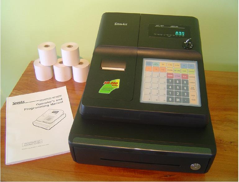 sam4s ER265, Cash Register